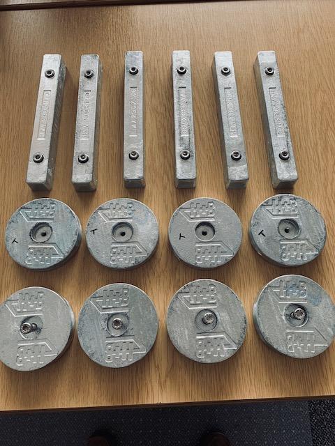 H+B Technics Zinc Anodes
